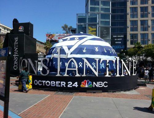 NBC Constantine  – Comic Con San Diego